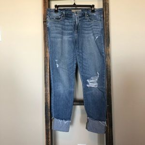 JOES Jeans with a Cuff Crop
